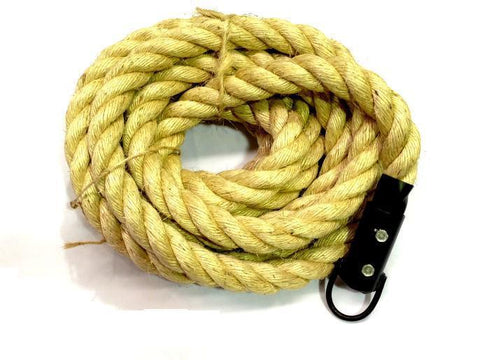 CROSS TRAINING CLIMBING ROPE 7m LENGTH x 1.5' DIA - sweatcentral