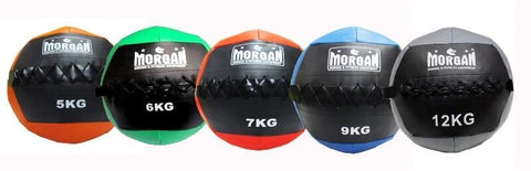 CROSS TRAINING WALL MEDICINE BALL SET 5KG 6KG 7KG 9KG 12KG - sweatcentral