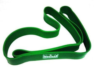 LARGE POWER RESISTANCE EXERCISE RUBBER BANDS - GREEN COLOR - sweatcentral