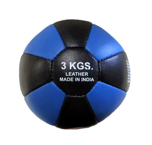 LEATHER MEDICINE BALL 2KG 3KG 5KG 7KG 9KG 10KG