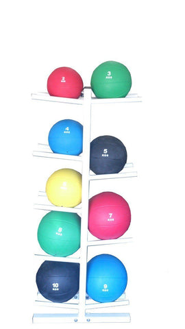 Image of Medicine Ball Rack - sweatcentral