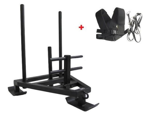 Image of POWER SLED WITH HARNESS CROSS TRAINING STRENGTH EQUIPMENT - sweatcentral