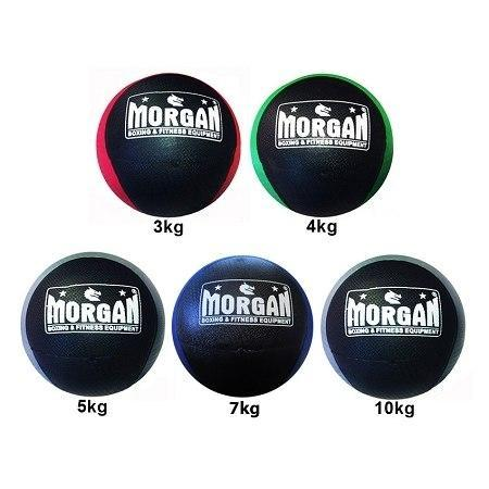 Cross Training SET OF 3KG, 4KG, 5KG 2-Tone Commercial Medicine Ball sweat central