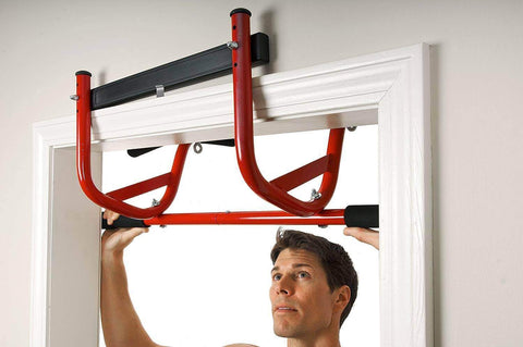 Image of GOFIT ELEVATED NO SCREW DOOR CHIN UP BAR MULTI USE CHIN UP STATION - sweatcentral