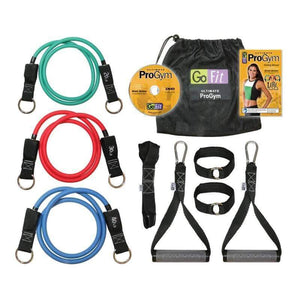 GOFIT PORTABLE ULTIMATE PRO GYM RESISTANCE EXERCISE BANDS SET - sweatcentral