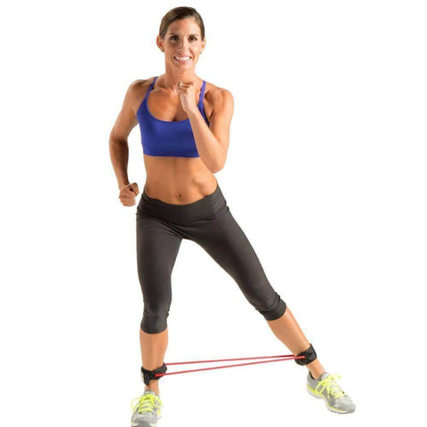 Image of GOFIT RESIT A CUFF LOWER BODY TUBE TRAINER LIGHT TO HEAVY RESISTANCE - sweatcentral