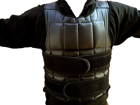 Image of 15kg WEIGHTED WEIGHT VEST EXERCISE & SPORT STRENGTH TRAINING - sweatcentral