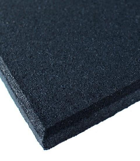 1m x 1m HEAVY DUTY RUBBER GYM FLOORING MATS TILES - sweatcentral