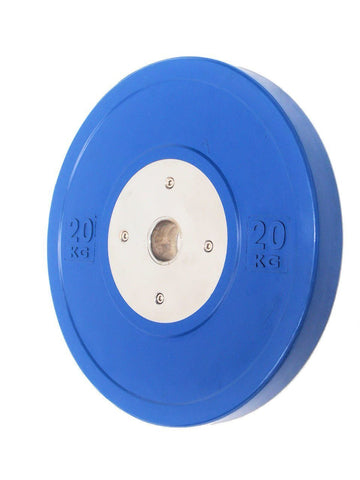 20KG PAIR OF ELITE OLYMPIC BUMPER PLATES - sweatcentral