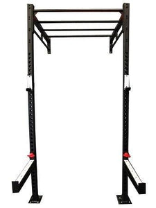 4 In 1 Cross Training Power Matrix Rack Wall Mounted Gym Squat Cage