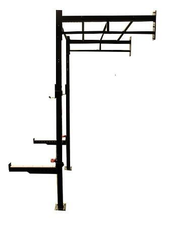 4 In 1 Cross Training Power Matrix Rack Wall Mounted Gym Squat Cage - sweatcentral