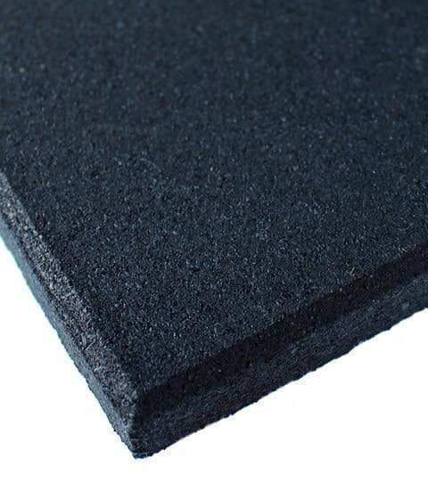 50pcs 1m x 1m Rubber Floor Mat Tiles 15mm Thick - sweatcentral