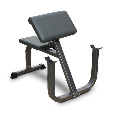 C625PC DELUXE SEATED PREACHER ARM CURL BICEP WEIGHTS BENCH - sweatcentral