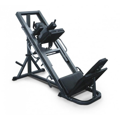 LEG PRESS & HACK SQUAT 2-IN-1 STRENGTH MACHINE BODYWORX L800LPHS CALF RAISE - sweatcentral