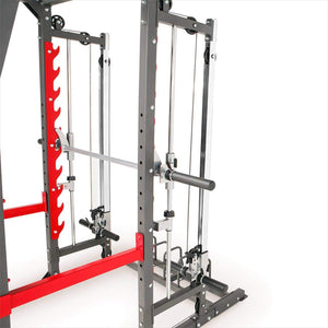 MARCY MULTI FUNCTIONAL TRAINER POWER CAGE RACK & SMITH MACHINE CABLE CROSS OVER GYM ALL IN ONE