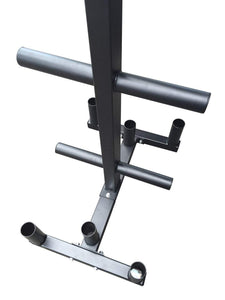 OLYMPIC BARBELL & GYM WEIGHT PLATES STORAGE TREE RACK