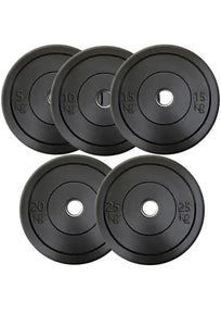 OLYMPIC BUMPER PLATES (PAIR) - 5-10-15-20-25 KG - sweatcentral