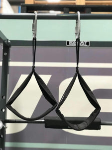 PAIR OF AB SLING HANGING AB STRAP USED 4 PULL CHIN SIT UP  BAR - sweatcentral