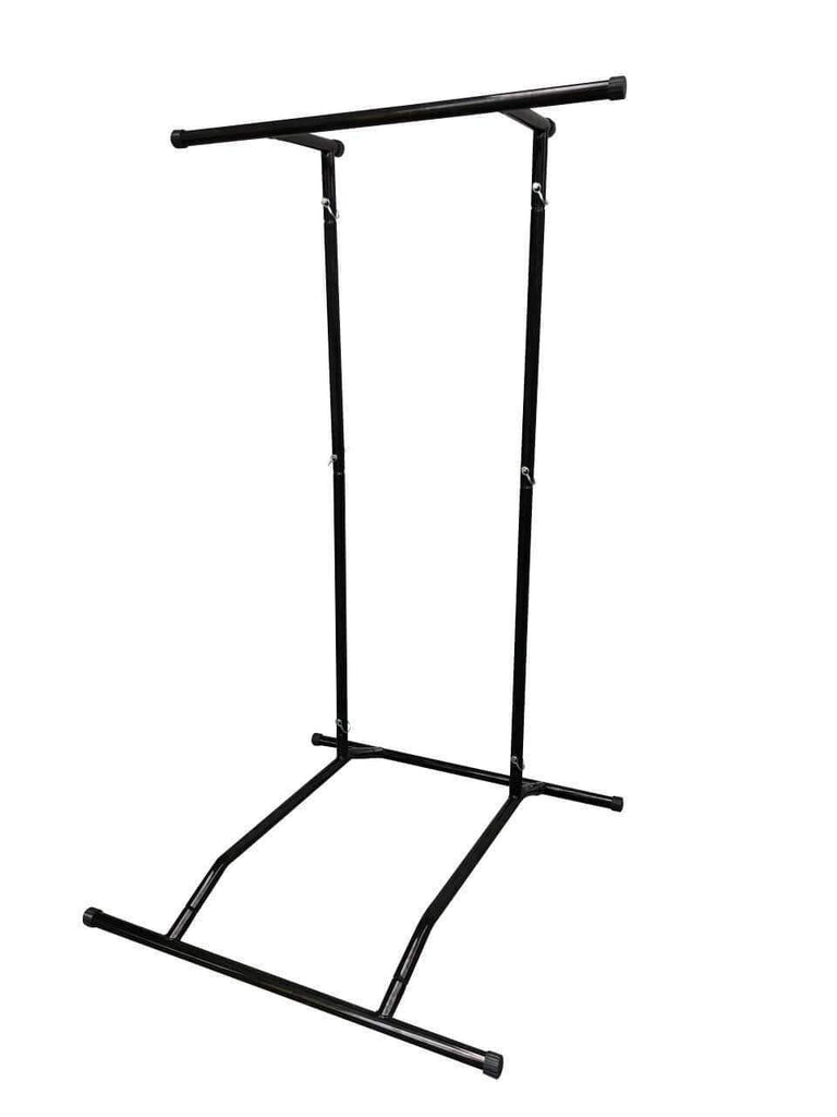 PORTABLE FREE STANDING PULL CHIN UP CALISTHENICS STATION RACK - sweatcentral