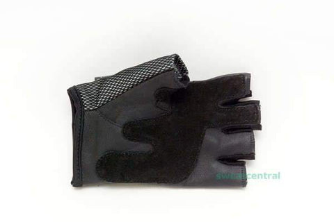 PREMIUM LEATHER GYM GLOVES - SIZE LARGE - sweatcentral