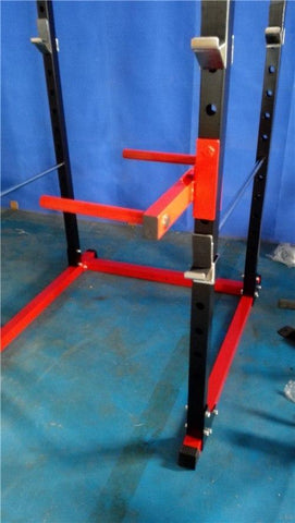 Gym Equipment SILVER PACKAGE PR528 POWER CAGE 120kg WEIGHTS BENCH BARBELL AND MATS sweat central
