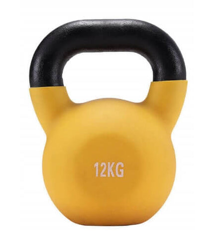 12KG CAST IRON RUSSIAN KETTLEBELL KETTLE BELL GYM WEIGHTS