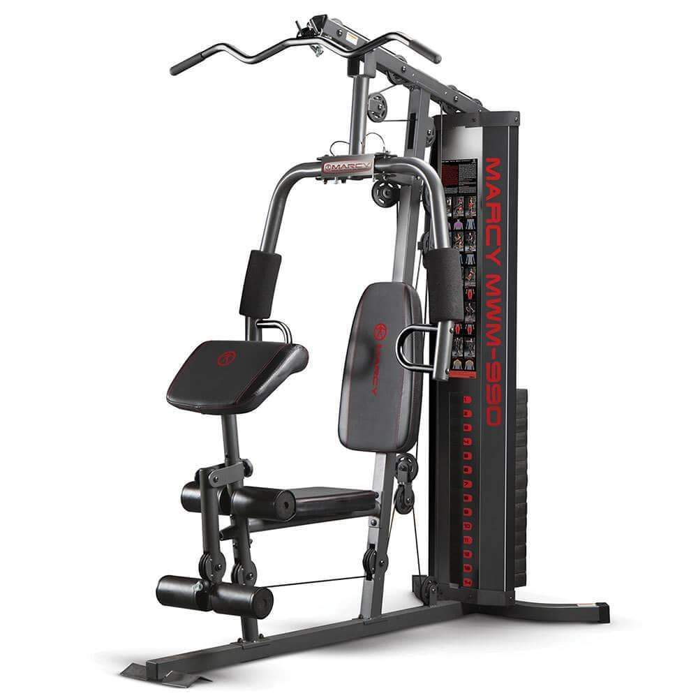 MARCY 150LBS STACK MULTI STATION HOME GYM MWM990 - sweatcentral