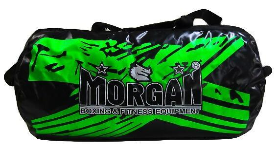MORGAN BANGKOK READY 2.5FT  VINYL GEAR BAG FITNESS CARRYING GYM BAG - GREEN COLOR - sweatcentral