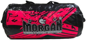 MORGAN BKK READY 2.5ft VYNIL GEAR BAG DUFFLE LADY GYM BAG - PINK COLOR