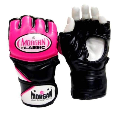 Image of MORGAN CLASSIC LADY MMA X-TRAINING GLOVES FINGERLESS WOMEN MMA BOXING GLOVES - sweatcentral