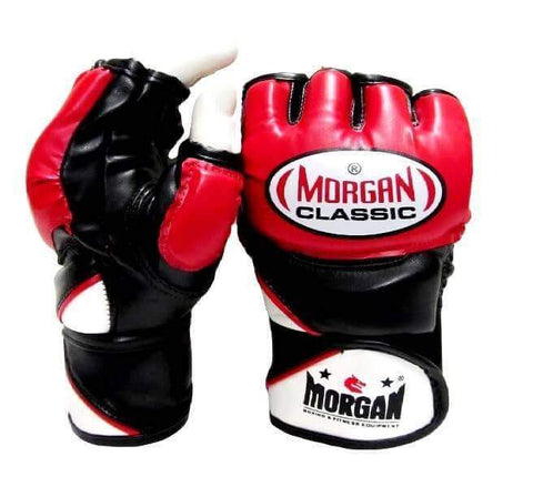 MORGAN CLASSIC MMA X-TRAINING GLOVES FINGERLESS MMA BOXING GLOVES - sweatcentral
