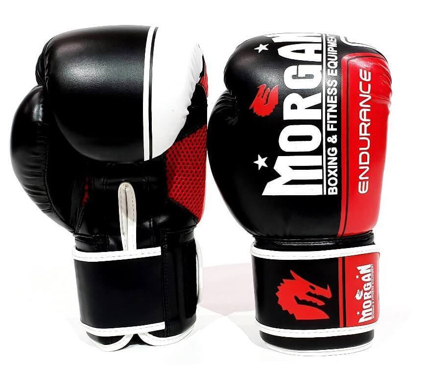 MORGAN ENDURANCE PRO BOXING PUNCHING GLOVES SPARRING MMA PUNCHING BAG - sweatcentral