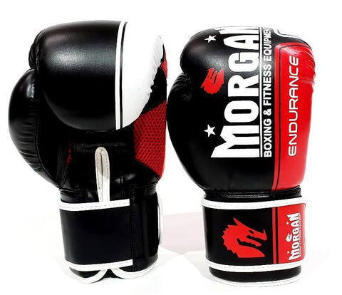 Image of MORGAN ENDURANCE PRO BOXING PUNCHING GLOVES SPARRING MMA PUNCHING BAG - sweatcentral