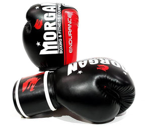 MORGAN ENDURANCE PRO BOXING PUNCHING GLOVES SPARRING MMA PUNCHING BAG