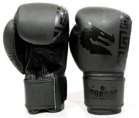 Image of MORGAN STEALTH BOXING GLOVES PUNCHING SPARRING TRAINNING GLOVES - sweatcentral