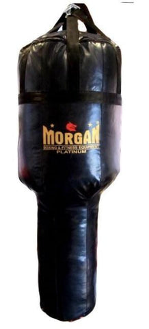 Image of MORGAN XL PLATINUM ANGLE BOXING PUNCHING BAG KICKING UPPERCUTTING BAG - FILLED VERSION - sweatcentral