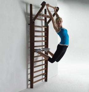 MULTI USE EXCERCISE WALLBARS STATION | CHIN UP BAR | SIT UP BAR | PULL UPS BAR