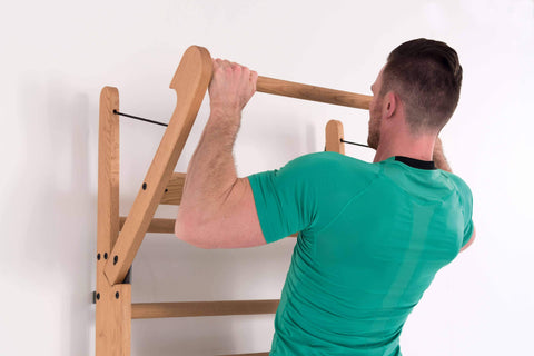 Image of MULTI USE EXCERCISE WALLBARS STATION | CHIN UP BAR | SIT UP BAR | PULL UPS BAR sweat central