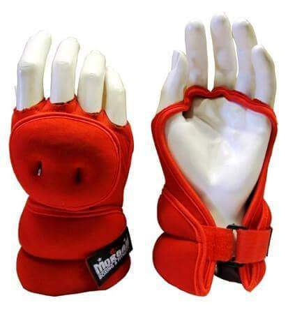 Image of PAIR OF 1KG MORGAN SHADOW WEIGHTED BOXING GLOVES - sweatcentral