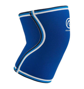 REHBAND UNISEX KNEE SLEEVES SUPPORT THICK 7MM BLUE WEIGHTLIFTING CROSSFIT - sweatcentral