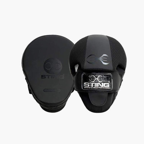 STING ARMAPLUS MATTE FOCUS MITT BOXING MMA PUNCH PADS - sweatcentral