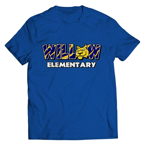 SILK SCREEN WILLOW ELEMENTARY Unisex T-Shirt