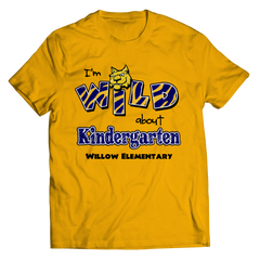 I'M WILD ABOUT KINDERGARTEN T-shirt