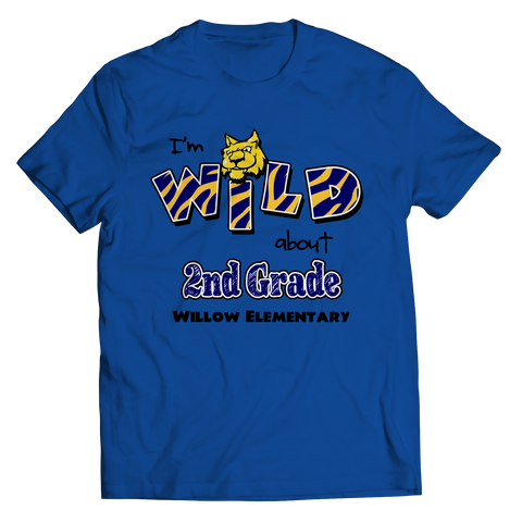 "I""M WILD ABOUT 2nd GRADE T-shirt"