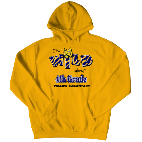 "I""M WILD ABOUT 4th GRADE HOODIE"