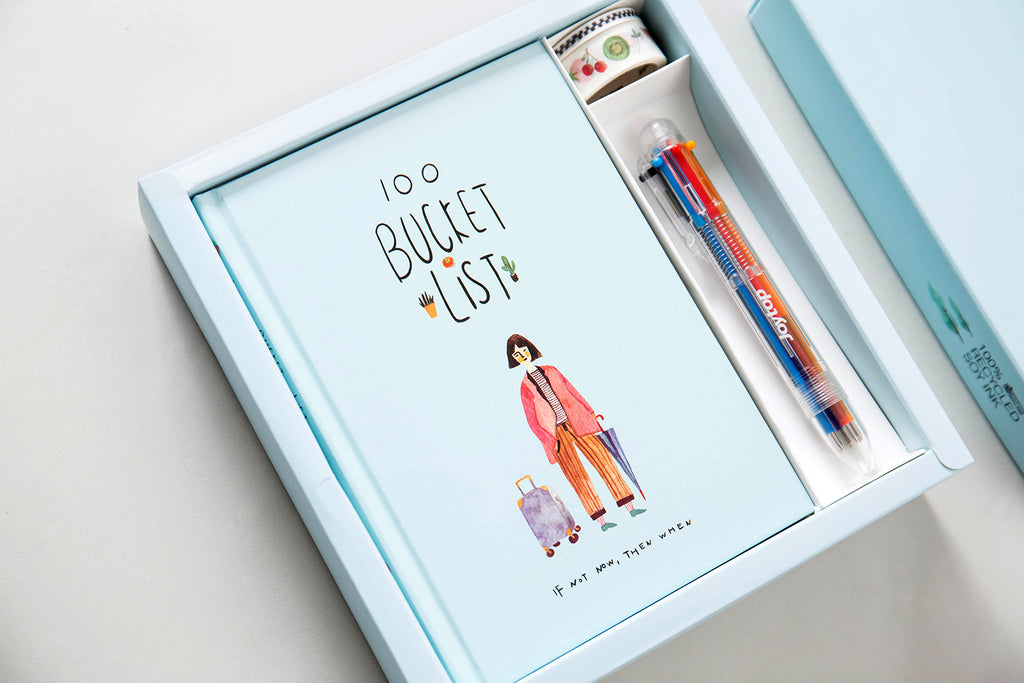 BUCKET LIST BOX SET - 100 WISHES
