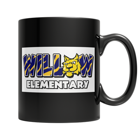 Willow Black Mug