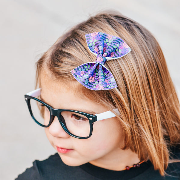 Savannah Bow (Halloween Floral)