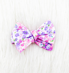 Poppy Bow - (Spring Bouquet)