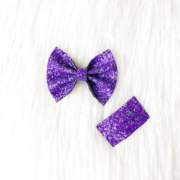 Savannah Bow - Halloween Glitter